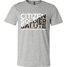 Soldier Salute Veterans Day Support and Honor T Shirt