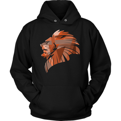 Lion's Pride Lion Head Animal Graphic Hoodie