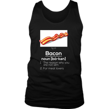 Bacon,Food Lovers,Bacon Addict Love to Eat Tank