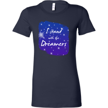 Inspirational I Stand With the Dreamers Motivational Bella Shirt