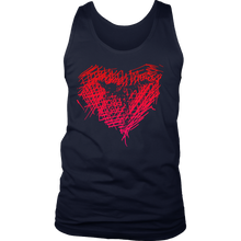 Love Karate Martial Arts Sport and Hobby Men's tank