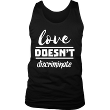Love Doesn't Discriminate, Support, Hope Hamilton Quote Tank