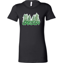 Novelty Oregon US State Stamped Bella Shirt