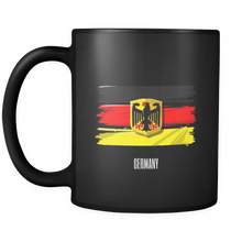 Germany, German Vintage Flag Black Mug 11oz