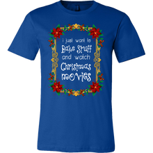Bake and Watch Christmas Movies Funny Novelty T-Shirt