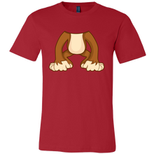 Monkey Body Animal Costume Funny Monkeys Gift T-Shirt