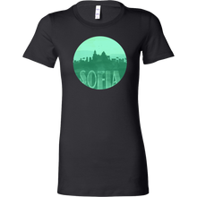 Sofia Skyline Horizon Sunset Love Bulgaria Bella Shirt