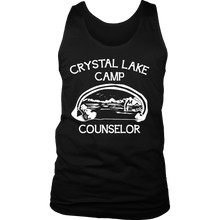 Camp Men's Tank - Camp Crystal Lake Counseler Quote Design