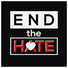 End the Hate,Awareness Bullying,Racism Canvas