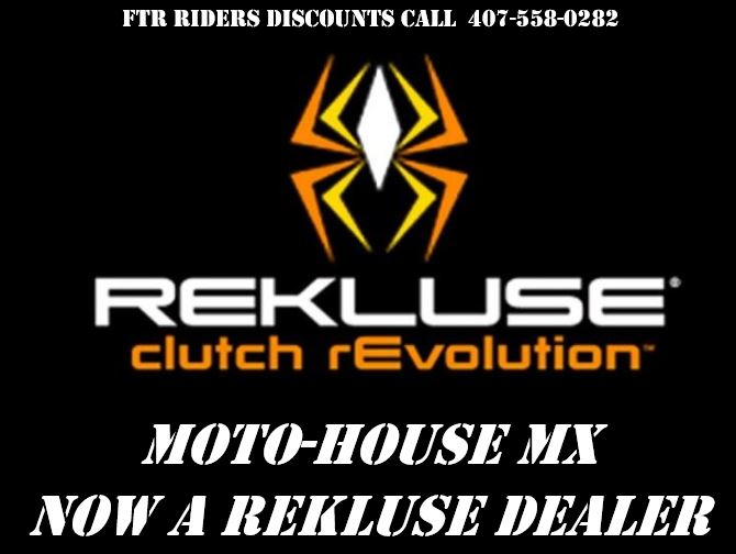 Moto-House MX is the Newest REKLUSE Clutch Dealer in Central Florida