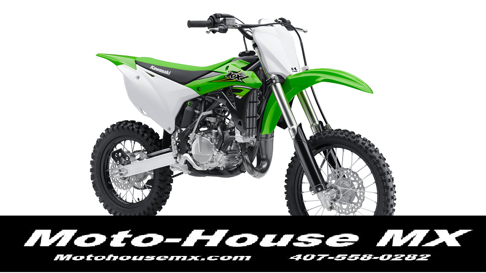 The Kawasaki KX85 is already and race wining bike in stock form