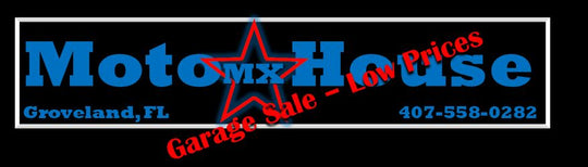 Moto-House MX Garage Sale New and Used Parts