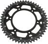 moose racing dual sprockets black