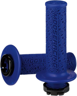 MOOSE RACING 36 SERIES CLAMP-ON GRIPS - Blue/Black - 0630-2537