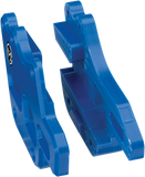 moose racing gear motocross pro chain guide blue
