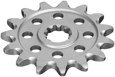 Prox Racing Parts Grooved Ultralight Front Sprocket - 13T , Color: Natural, Material: Steel, Sprocket Teeth: 13, Sprocket Size: 520, Sprocket Position: Front