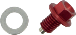 Moose Racing Drain Plug Magnetic Red Kawasaki KX85 Exhaust 0920-0048 Moto-House MX