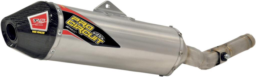 Pro Circuit Ti-5 Stainless Steel Slip-On Exhaust Honda CRF250R 2011-2013