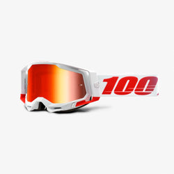 100% Racecraft2 Goggles St. Kith / Red Mirror Lens - Adult 50121-251-14