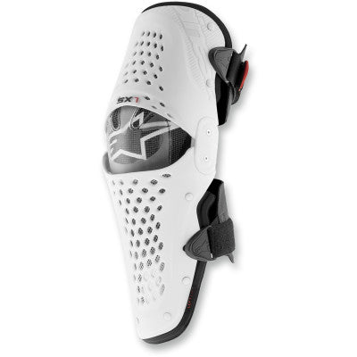 Alpinestars SX-1 Youth Knee Guards White/Black