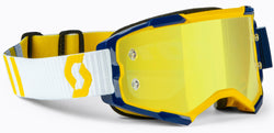 Scott Fury Motocross Goggle Yellow Blue Yellow Chrome 272828-1300289
