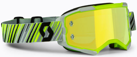 Scott Fury Motocross Goggle Yellow Grey Yellow Chrome 272828-4331289