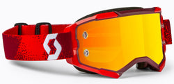 Scott Fury Motocross Goggle Red/Orange Chrome Works 272828-0004280