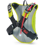 USWE Outlander 9 Hydration System Black 3.0L Elite Bladder - Crazy Yellow