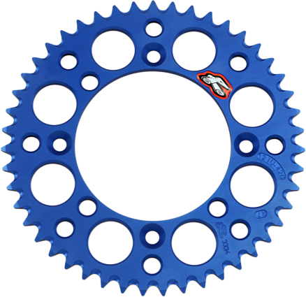 Renthal Rear Sprockets Aluminum Blue Yamaha YZ65 | Moto-House MX