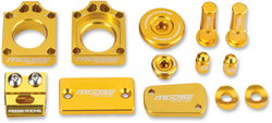Moose Racing Suzuki RMZ450 07-15 Bling Packs Green CNC-Machined 1231-0904