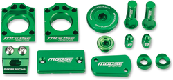 Moose Racing Kawasaki KX250F 11-17 Bling Packs Green CNC-Machined 1231-0903