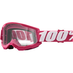 100% Strata 2 Goggles - Fletcher - Clear | Moto-House MX
