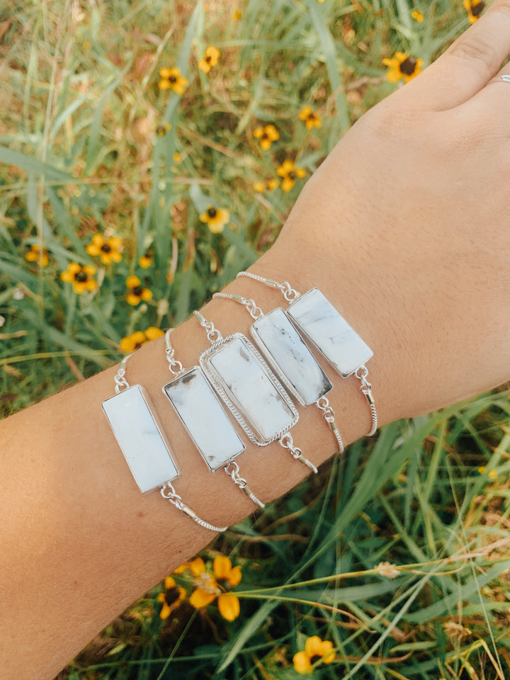 The Toni Bracelet (white buffalo)