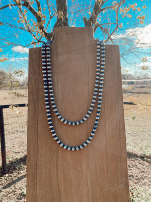 8mm Navajo Pearl Necklace