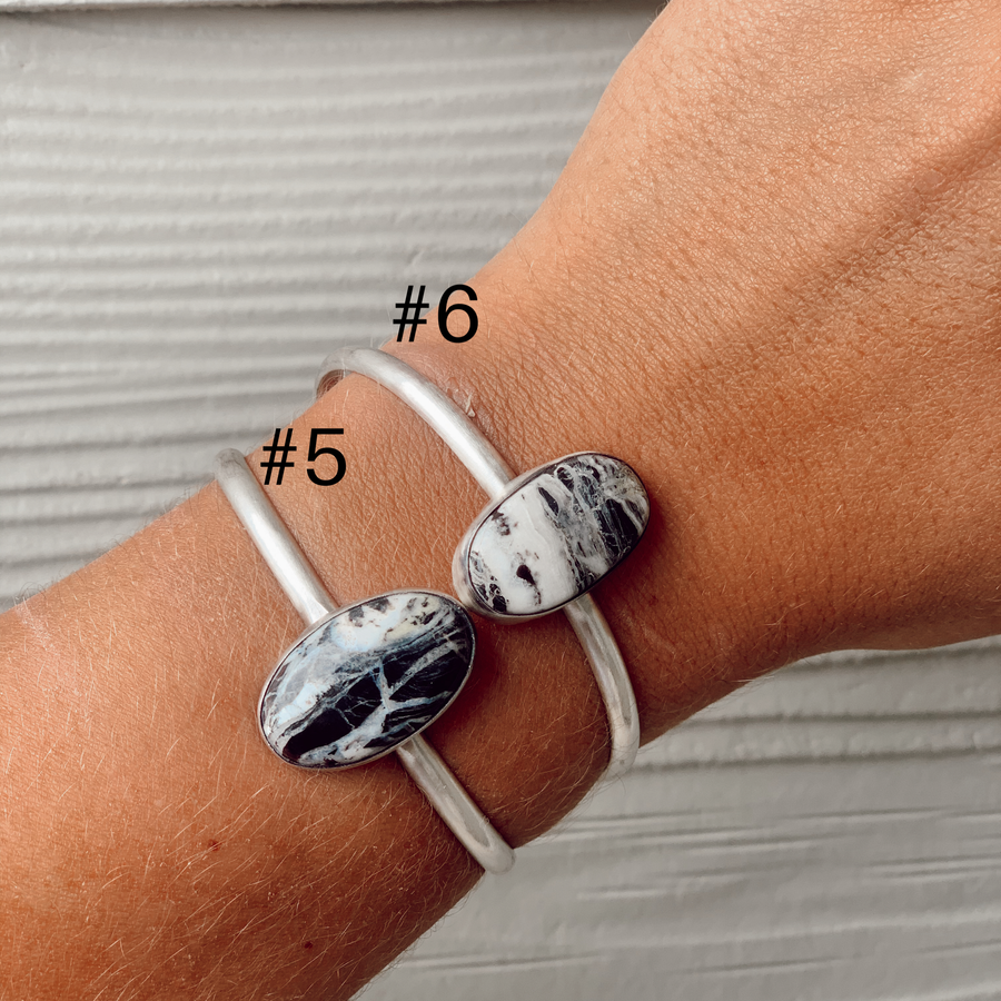 White Buffalo Stacker Cuffs