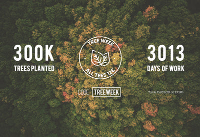 TREE WEEK : 300.000 árboles plantados🌳