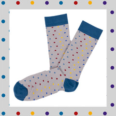 calcetines coloured dots