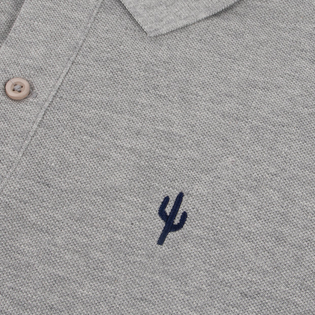 Polo Cactus Heather Grey