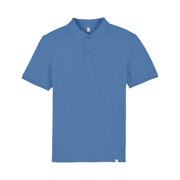 Bright Blue Polo Shirt