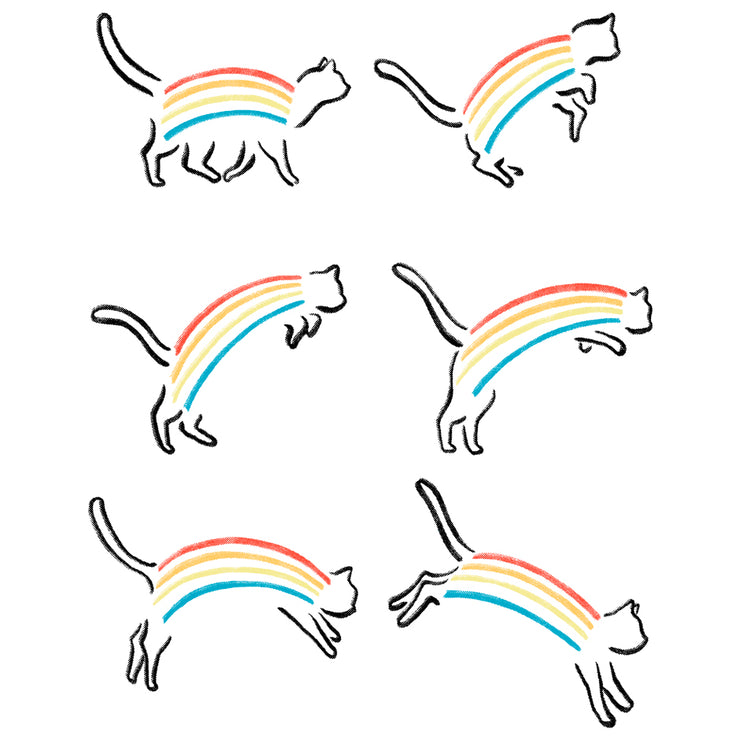 Rainbow Cat - Wituka