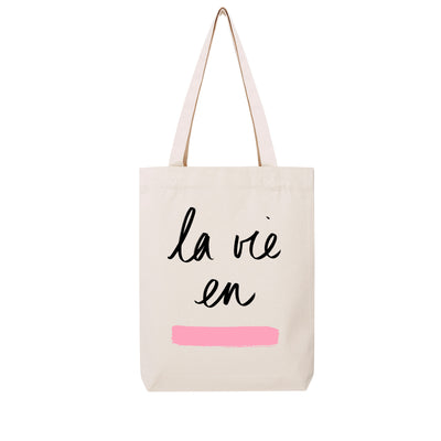 La Vie en Rose - Tote Bag - Wituka