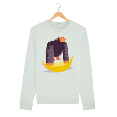 Big Yellow Banana Sweatshirt