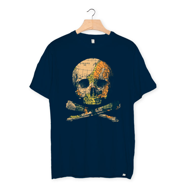 camiseta algodón orgánico - Pirate Treasure Kids