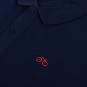 Polo Bike Navy - Wituka