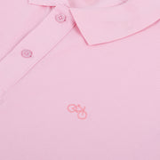 Polo Bike Cotton Pink