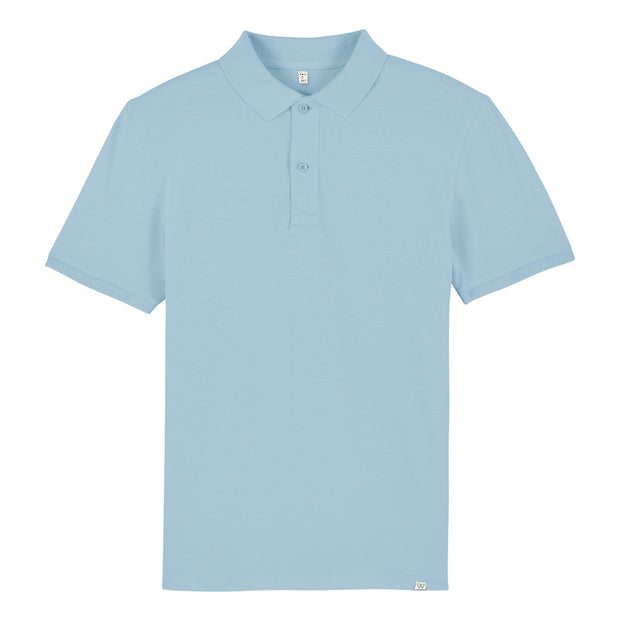 Sky Blue Polo Shirt - Wituka