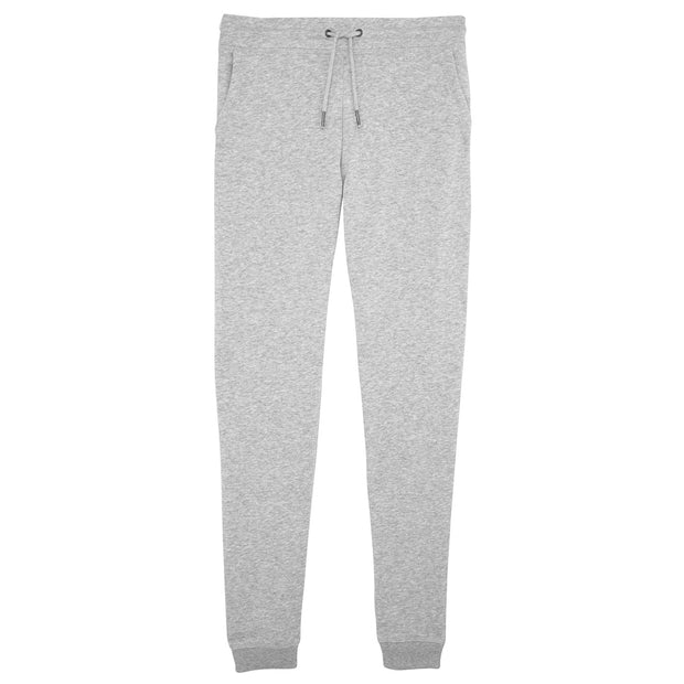Fitted Trousers Heather Grey Men