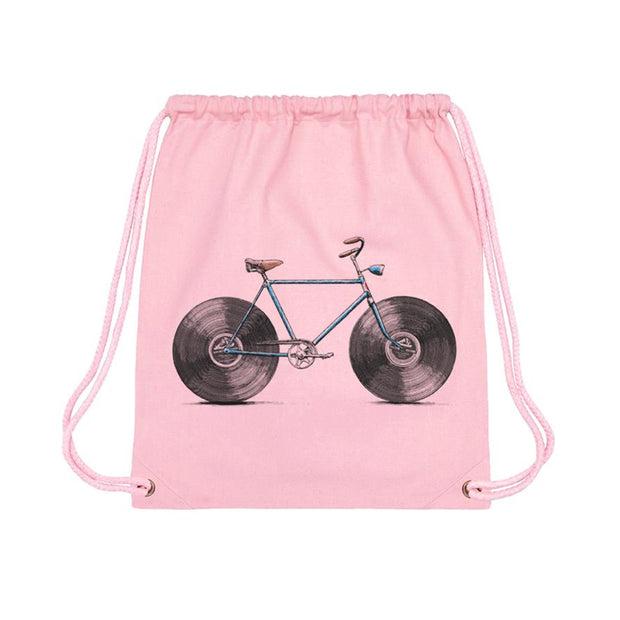 Velophone - Gym Bag Cotton Pink - Wituka