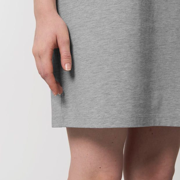Basic Heather Grey Dress