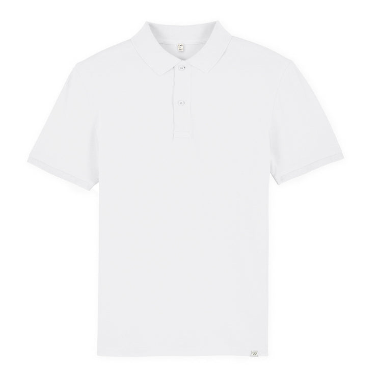 White Polo Shirt - Wituka